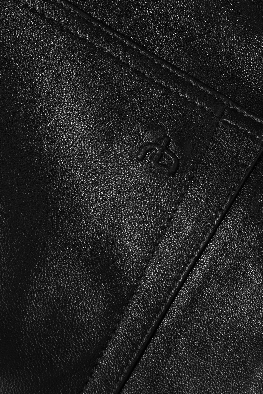 rag & bone Leather culottes