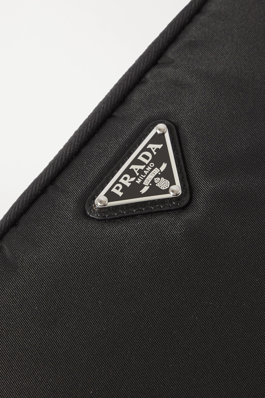 Prada Vela large nylon pouch