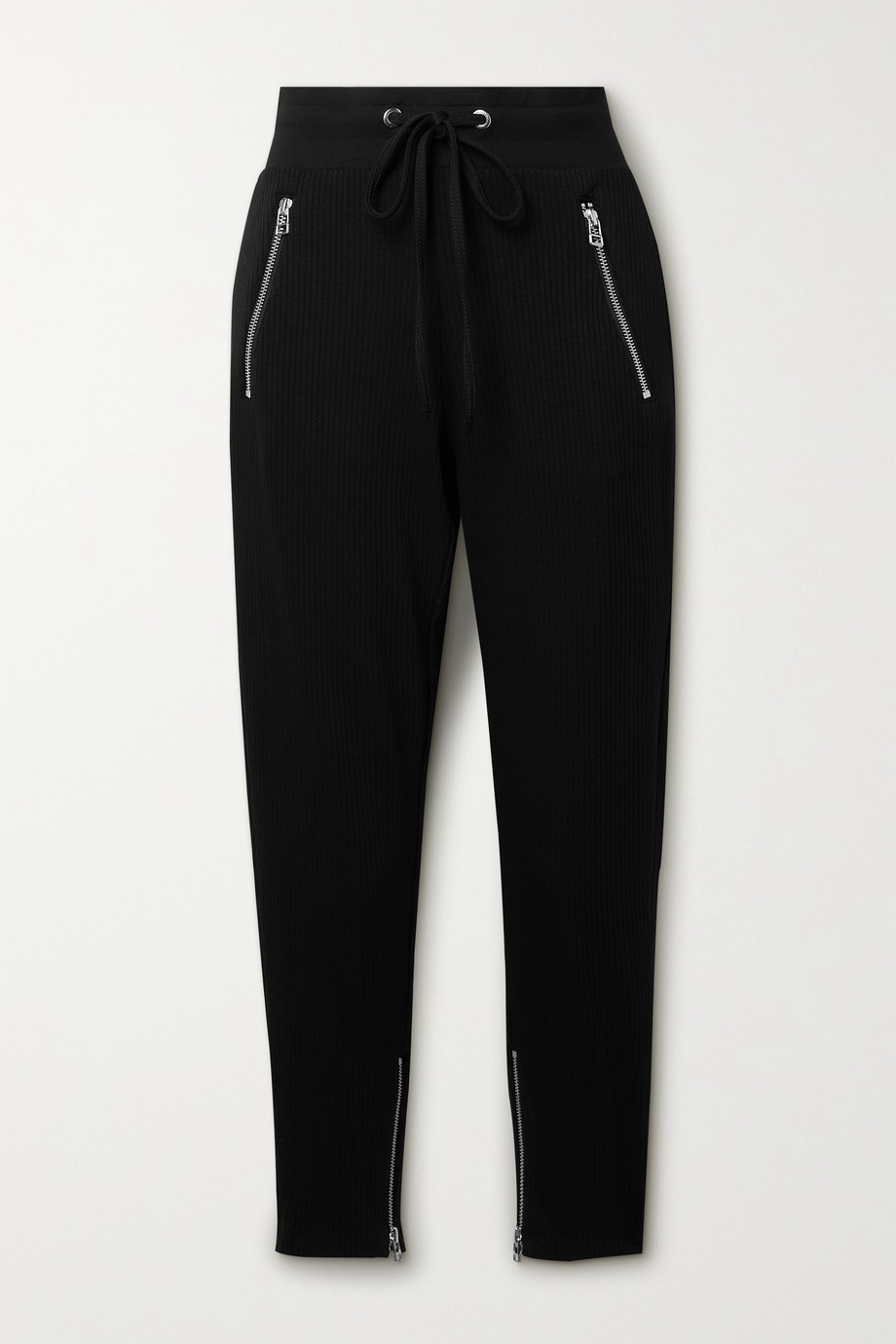 The Range Pantalon de survêtement en jersey stretch côtelé Alloy