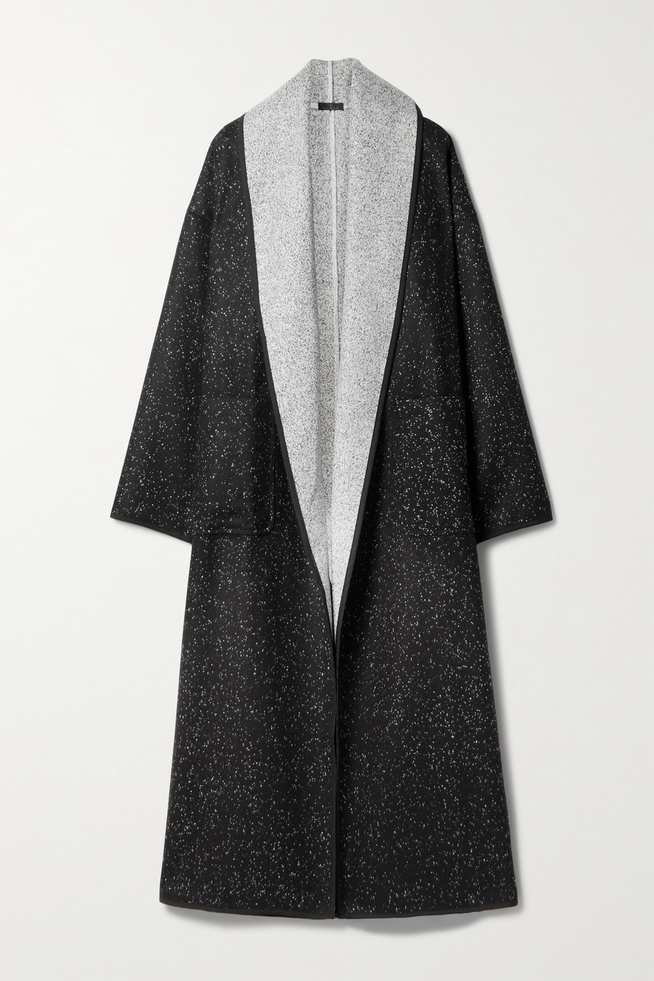The Range Static reversible flannel coat