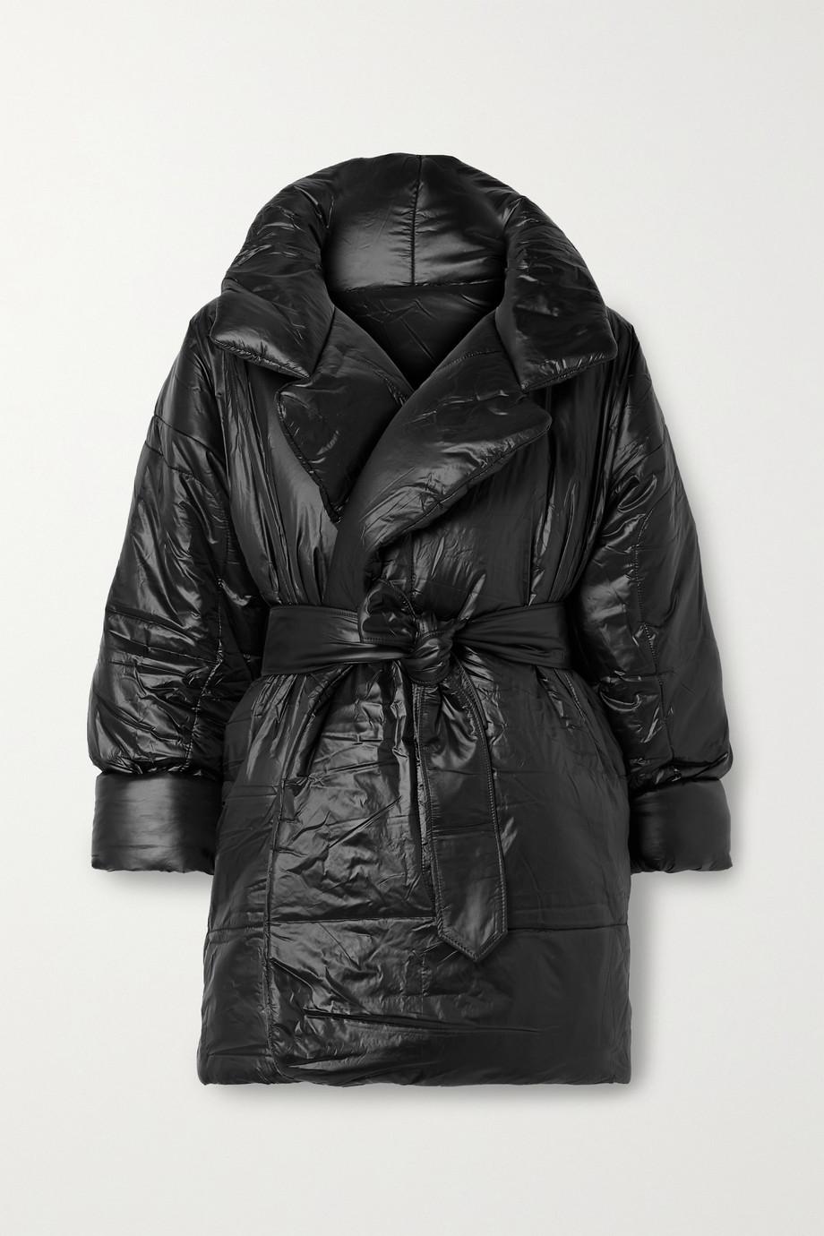 Norma Kamali Sleeping Bag oversized belted shell coat