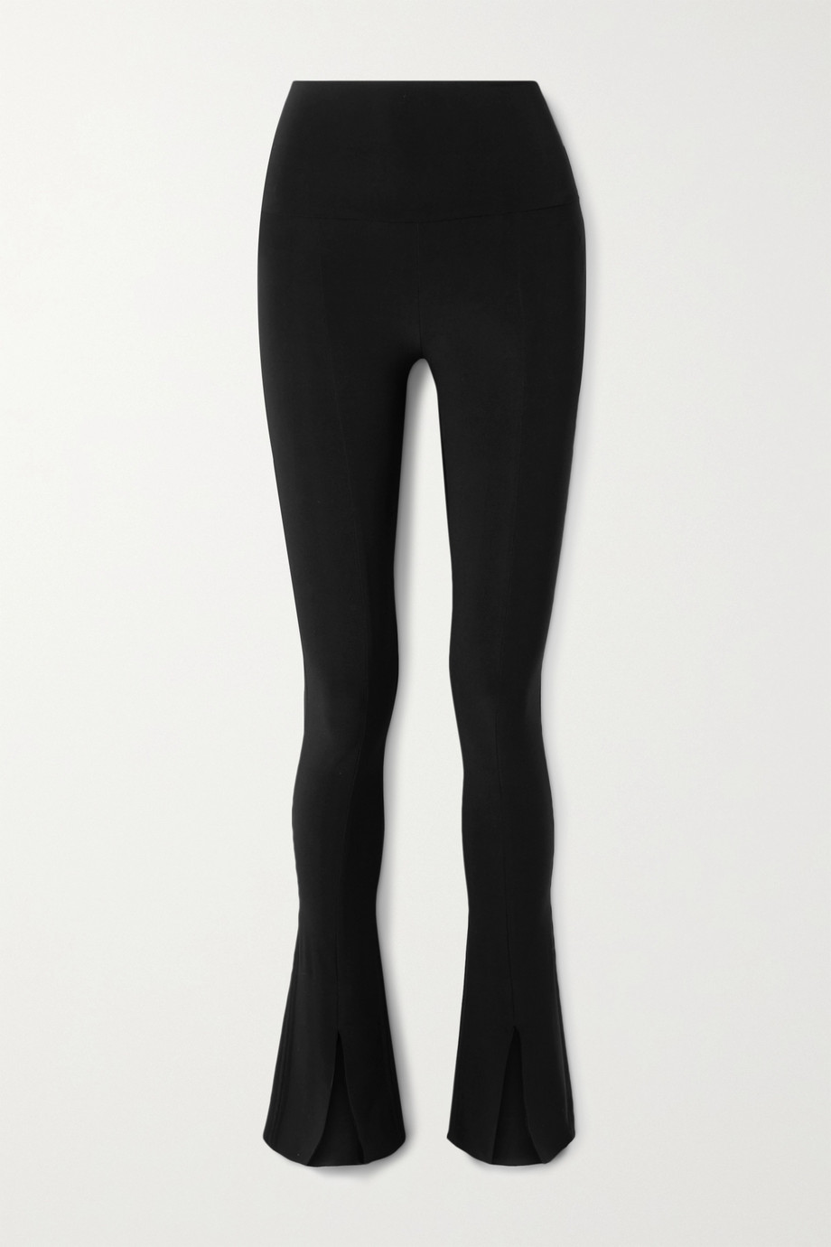 Norma Kamali Spat stretch-jersey flared leggings