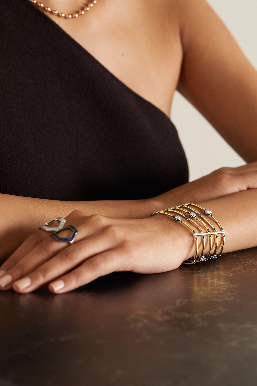 Jessica McCormack Chi Chi 18-karat gold diamond bracelet