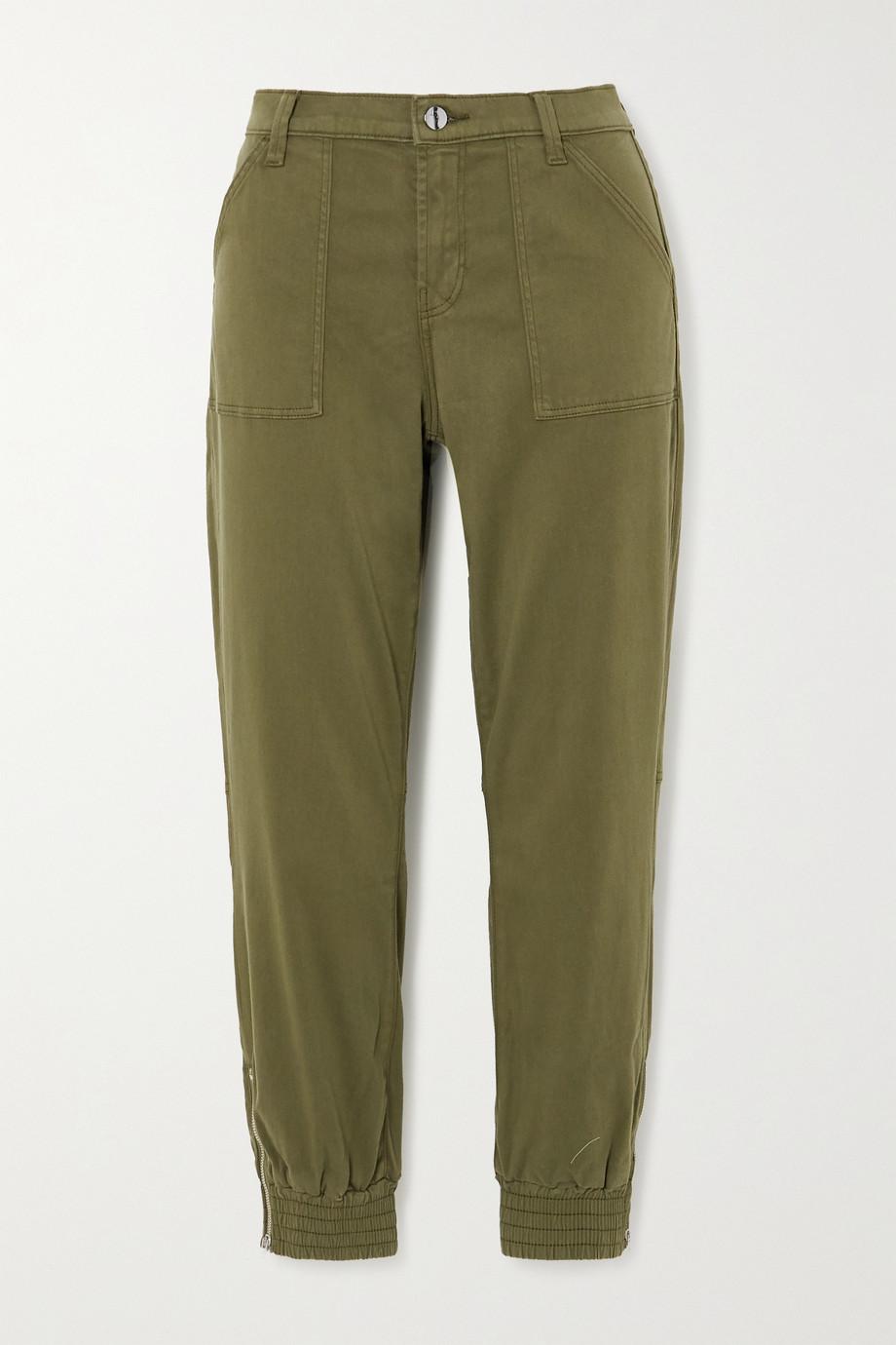 J Brand Pantalon de survêtement en satinette de coton mélangé Arkin