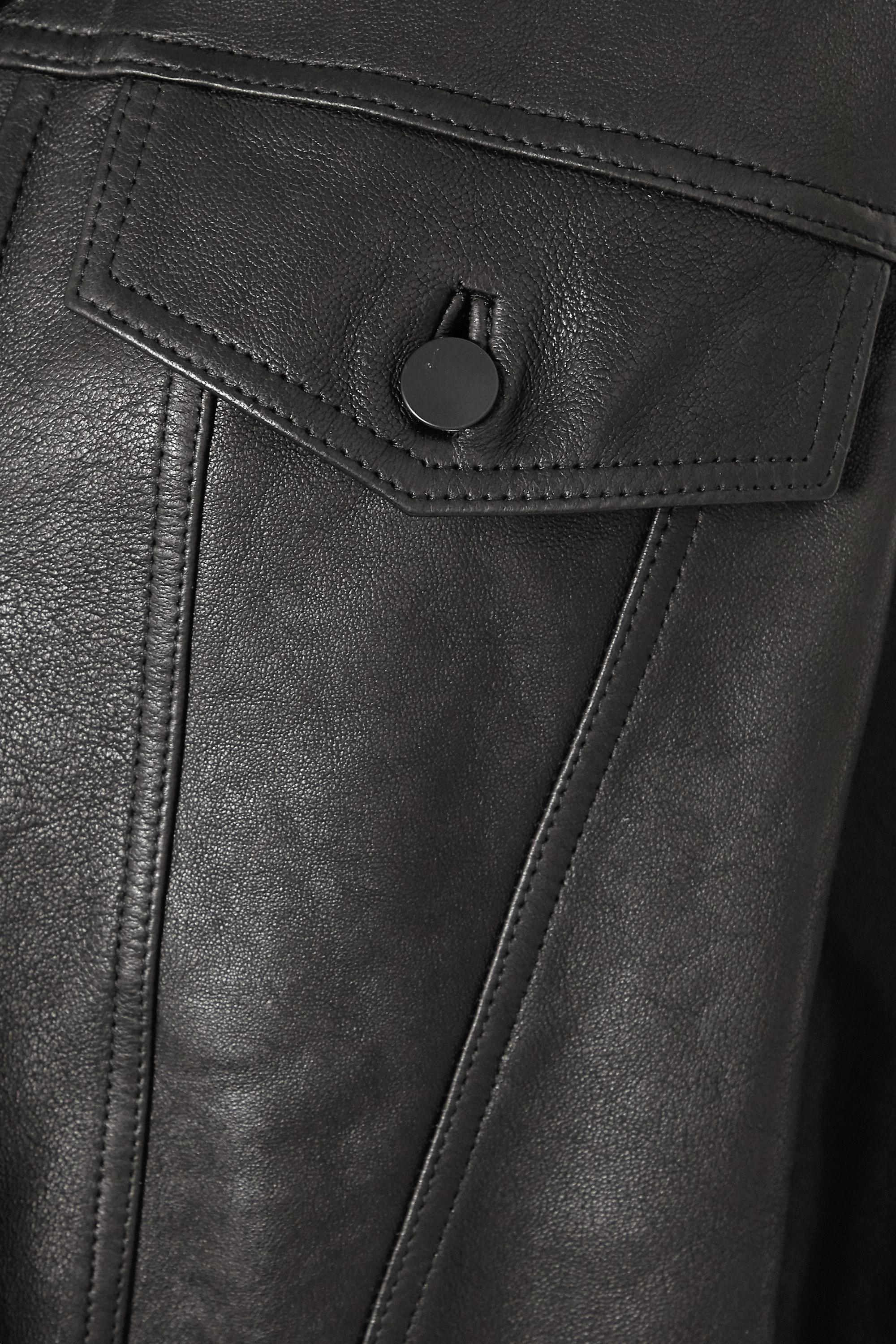 J Brand Drew Oversized-Jacke aus Leder