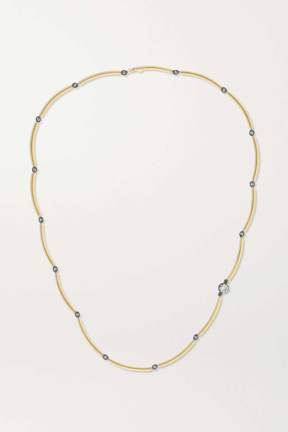 Jessica McCormack Chi Chi 18-karat gold diamond necklace