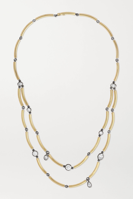 Jessica McCormack Chi Chi 18-karat gold diamond necklace