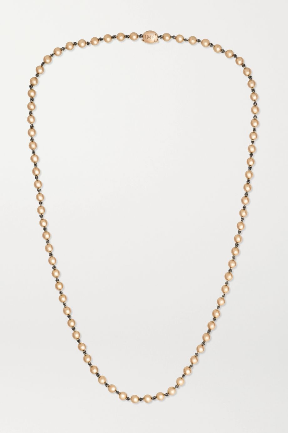Jessica McCormack Ball n Chain 18-karat rose gold necklace