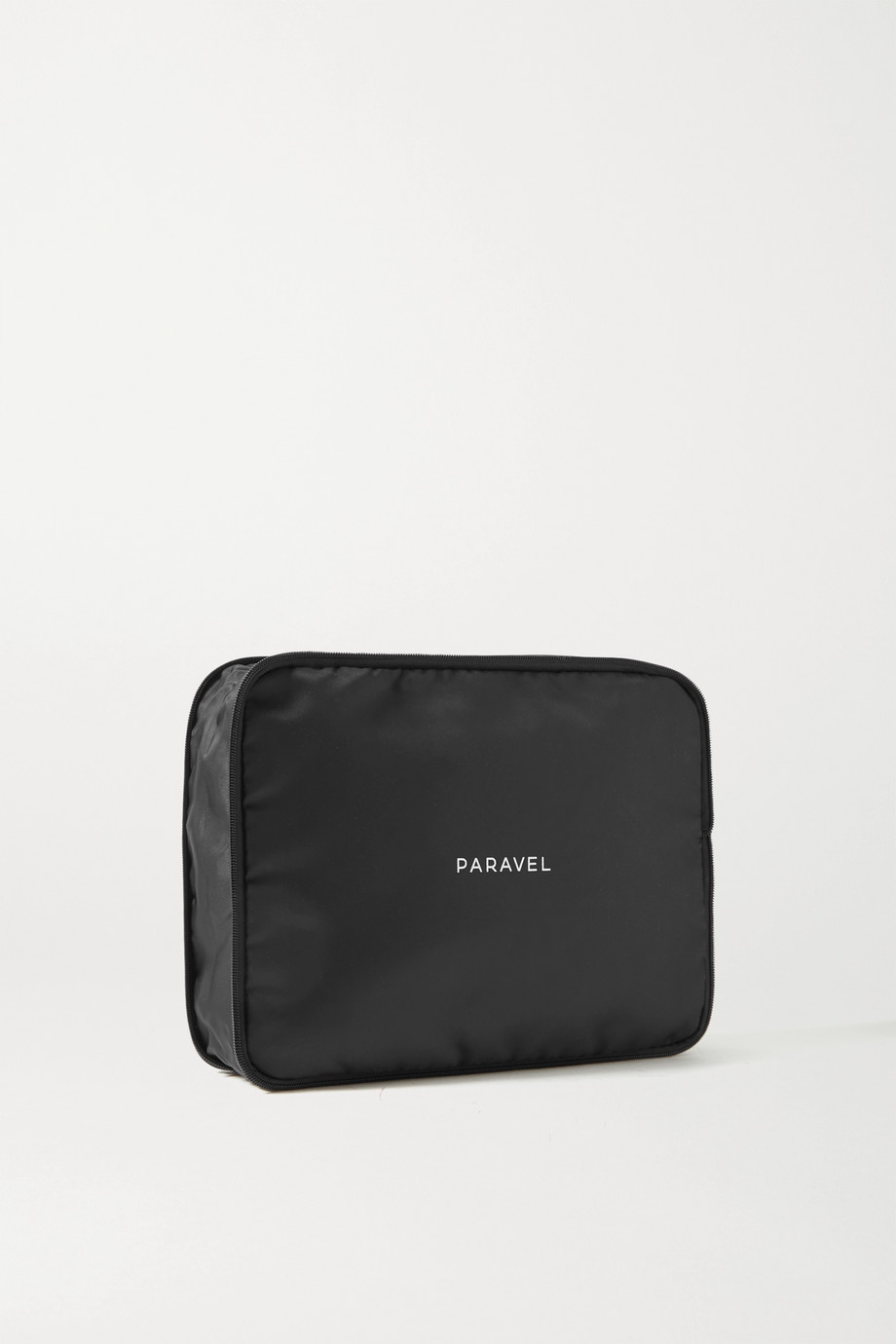 Paravel Set of two PVC-trimmed shell packing cubes