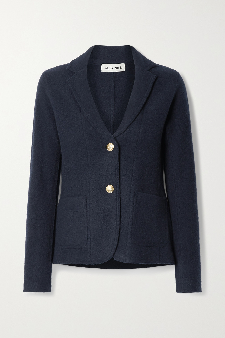 Alex Mill Merino wool-felt blazer