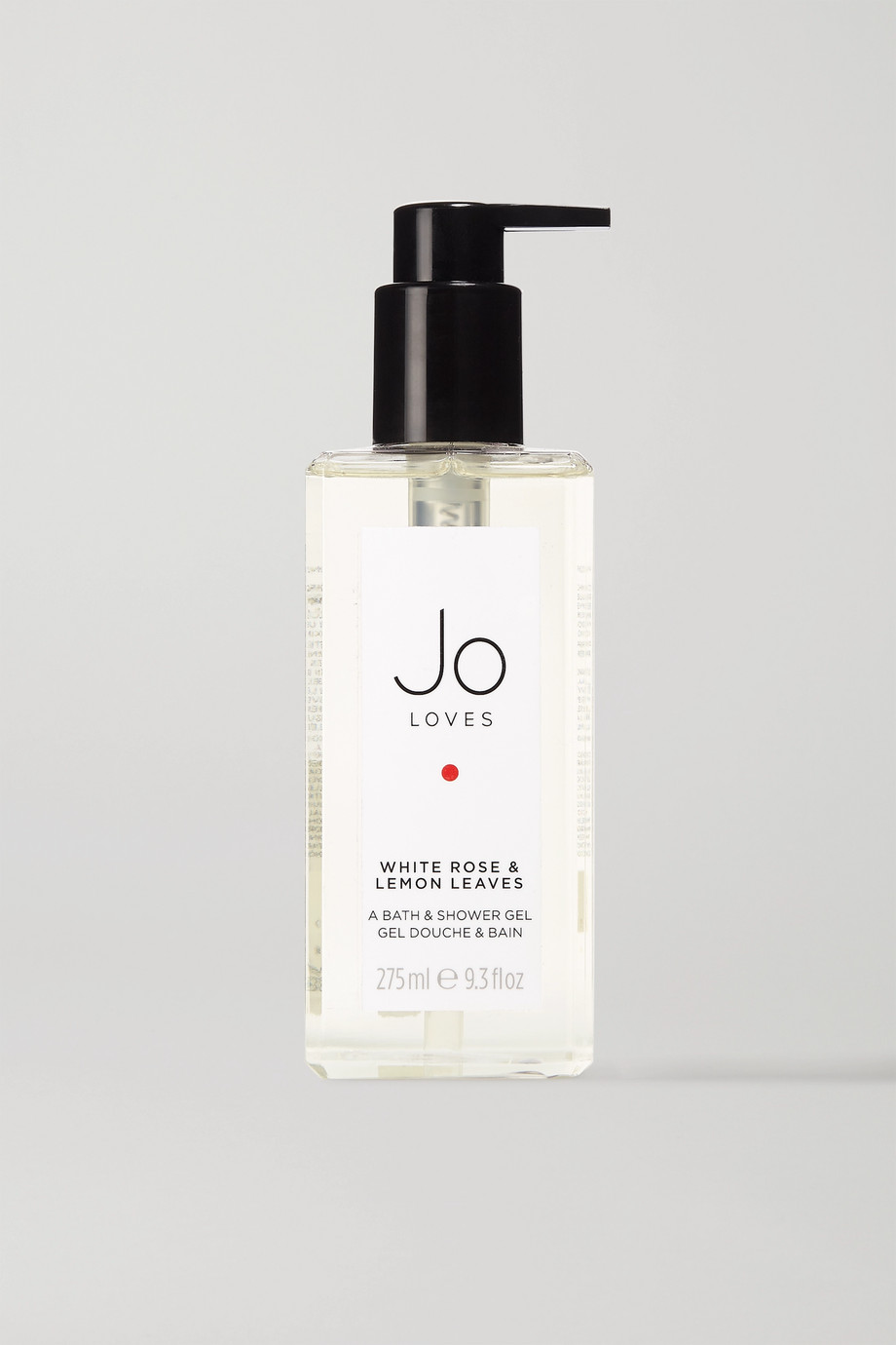 Jo Loves White Rose & Lemon Leaves Bath & Shower Gel, 275ml