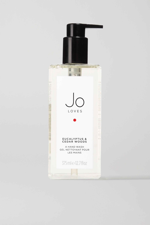 Jo Loves Eucalyptus & Cedar Woods Hand Wash, 375ml