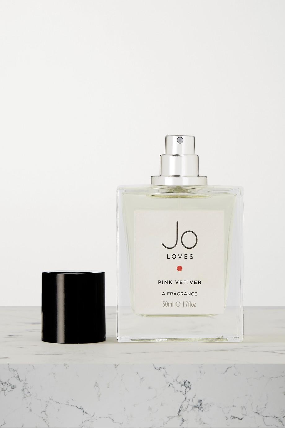 Jo Loves Pink Vetiver Fragrance, 50ml