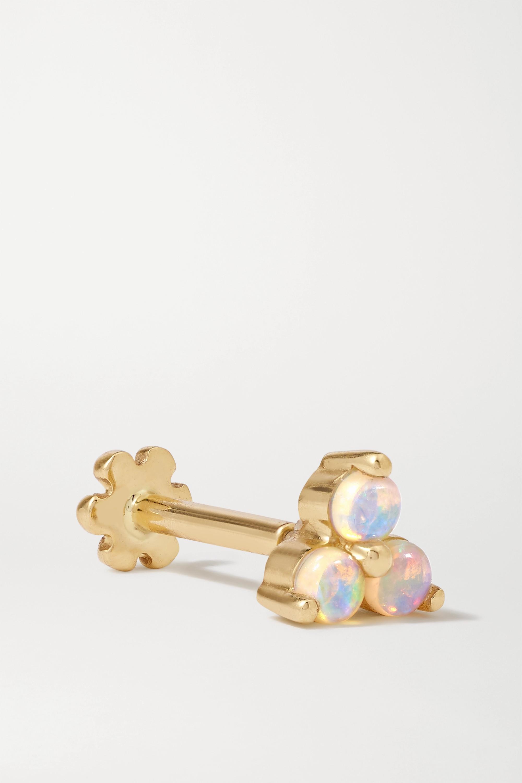 MARIA TASH 14-karat gold opal earring