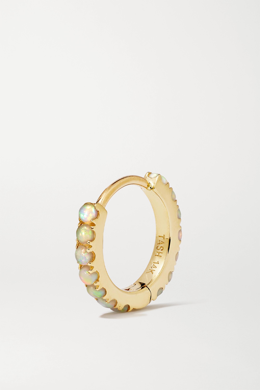 MARIA TASH 8 mm Creole aus 14 Karat Gold mit Opalen