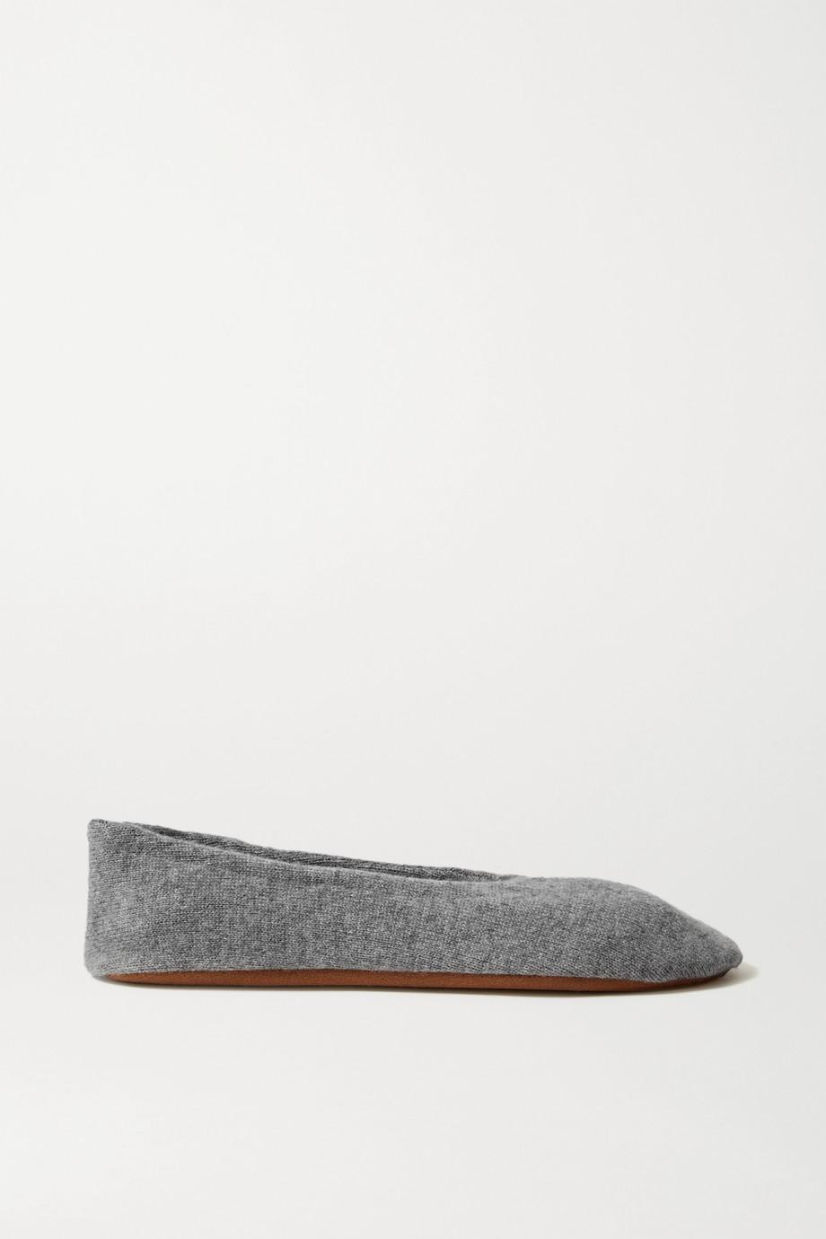 Skin 羊绒芭蕾平底鞋