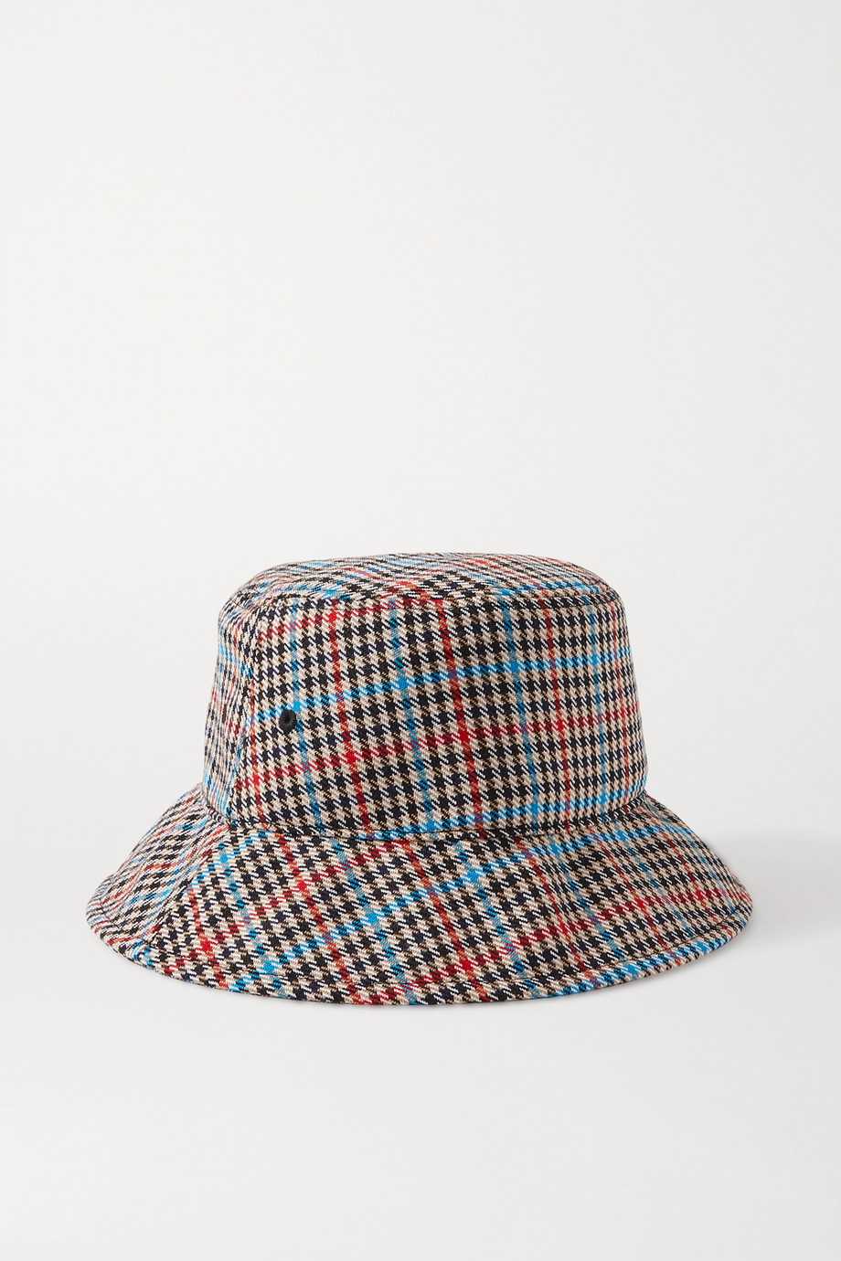 랙앤본 Rag & Bone Houndstooth wool-blend bucket hat,Black