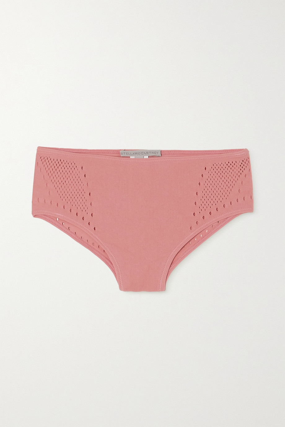 Stella McCartney Perforated jersey briefs