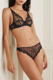 Stella McCartney Lace and satin briefs