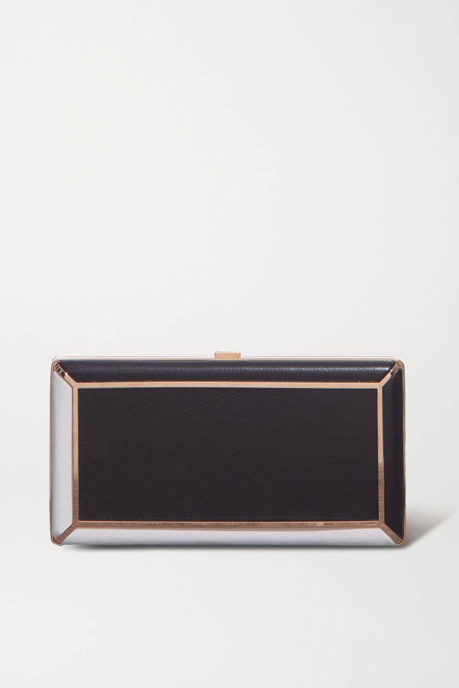Gabriela Hearst Callas two-tone leather clutch