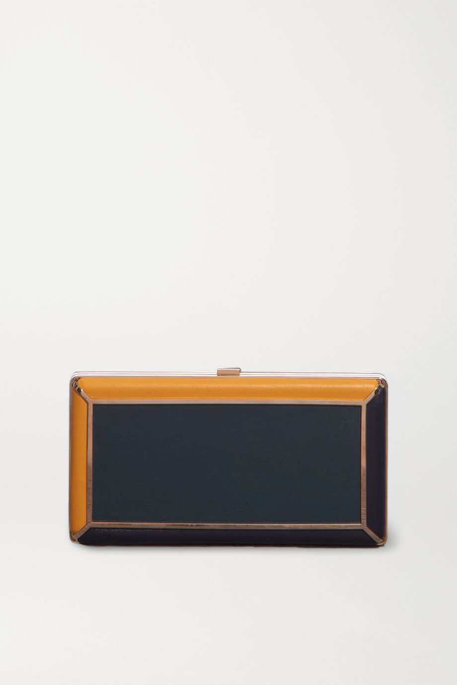 Gabriela Hearst Callas color-block leather clutch