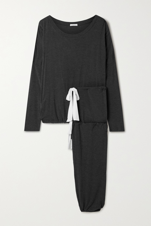 Soft Loungewear Set Charcoal