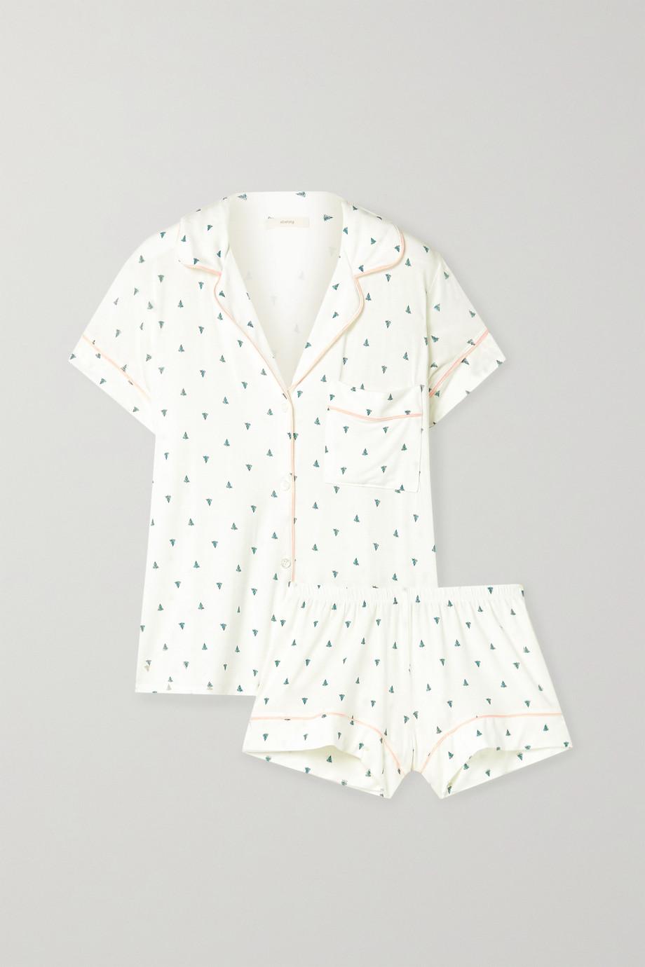 Eberjey Gisele Pyjama aus bedrucktem Stretch-Modal