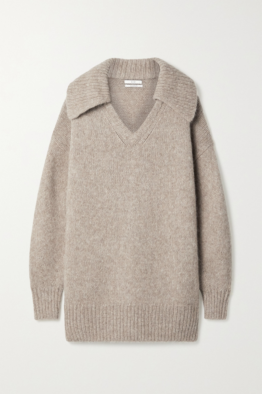 Co Oversized alpaca-blend sweater