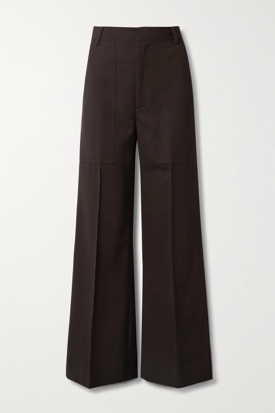 Co Twill wide-leg pants