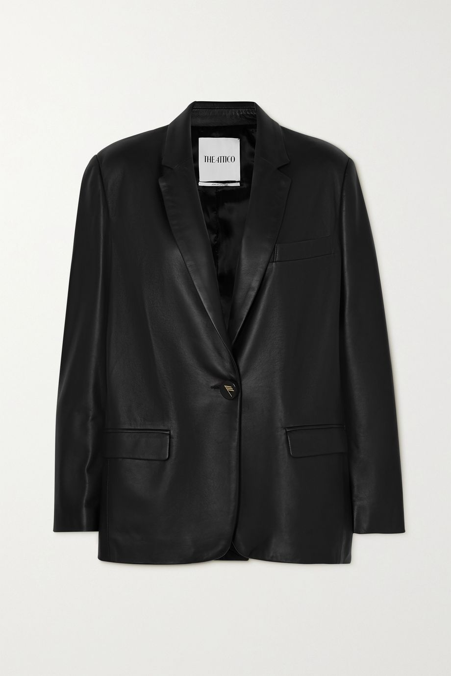 The Attico Leather blazer