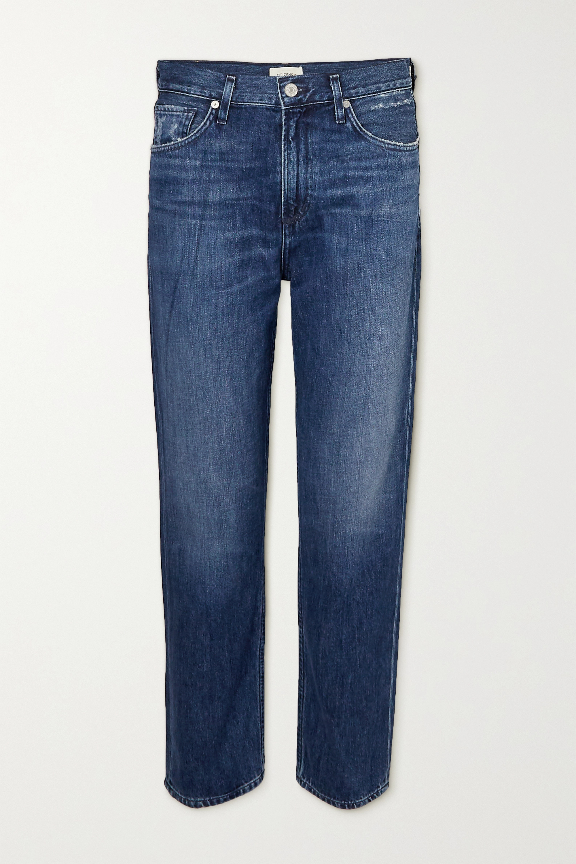 Citizens of Humanity - Marlee cropped high-rise tapered jeans