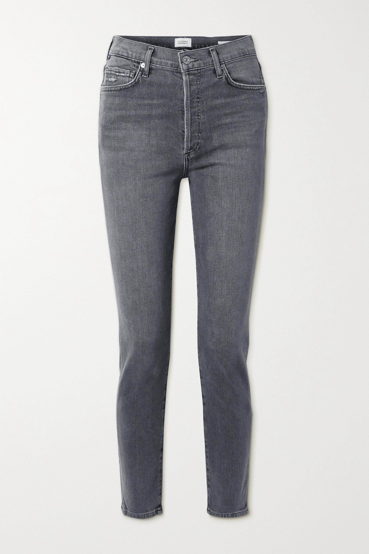 Citizens of Humanity Olivia hoch sitzende Jeans mit schmalem Bein