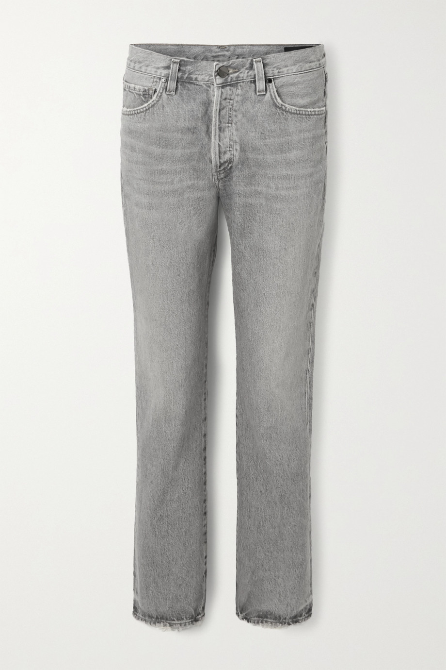 GOLDSIGN The Walcott organic distressed straight-leg jeans