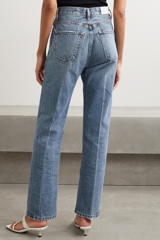GOLDSIGN The Martin high-rise straight-leg jeans