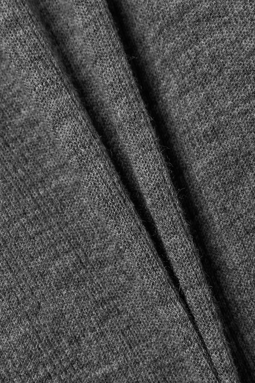 GOLDSIGN Rollkragenpullover aus einer gerippten Wollmischung