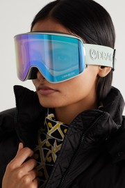 Dragon NFX2 mirrored ski goggles