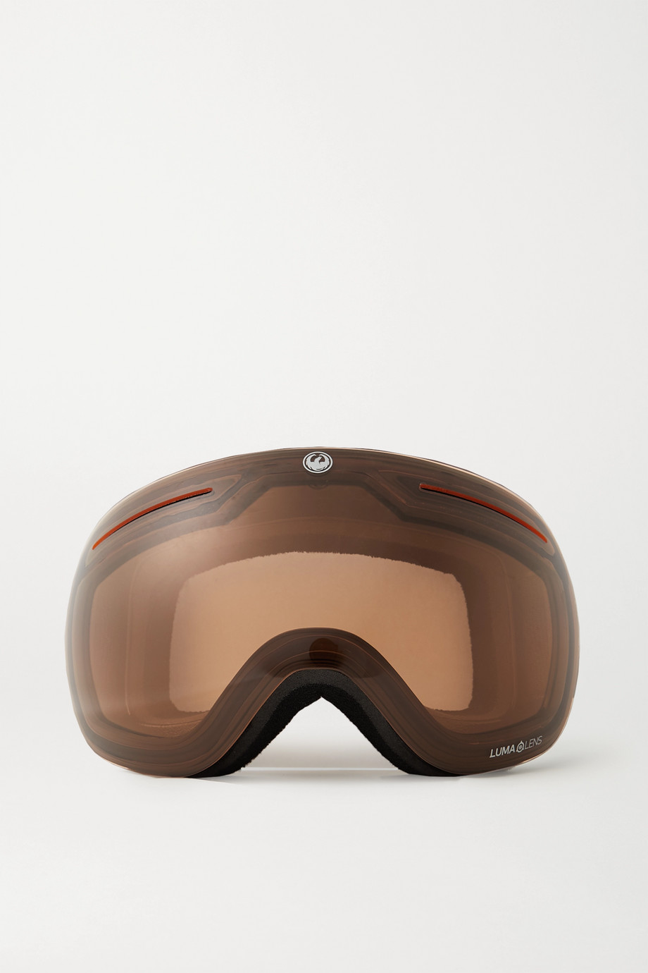 Dragon X1 mirrored ski goggles