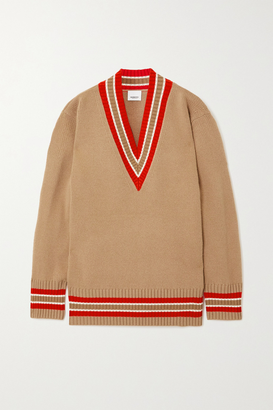 Burberry Oversized striped wool sweater