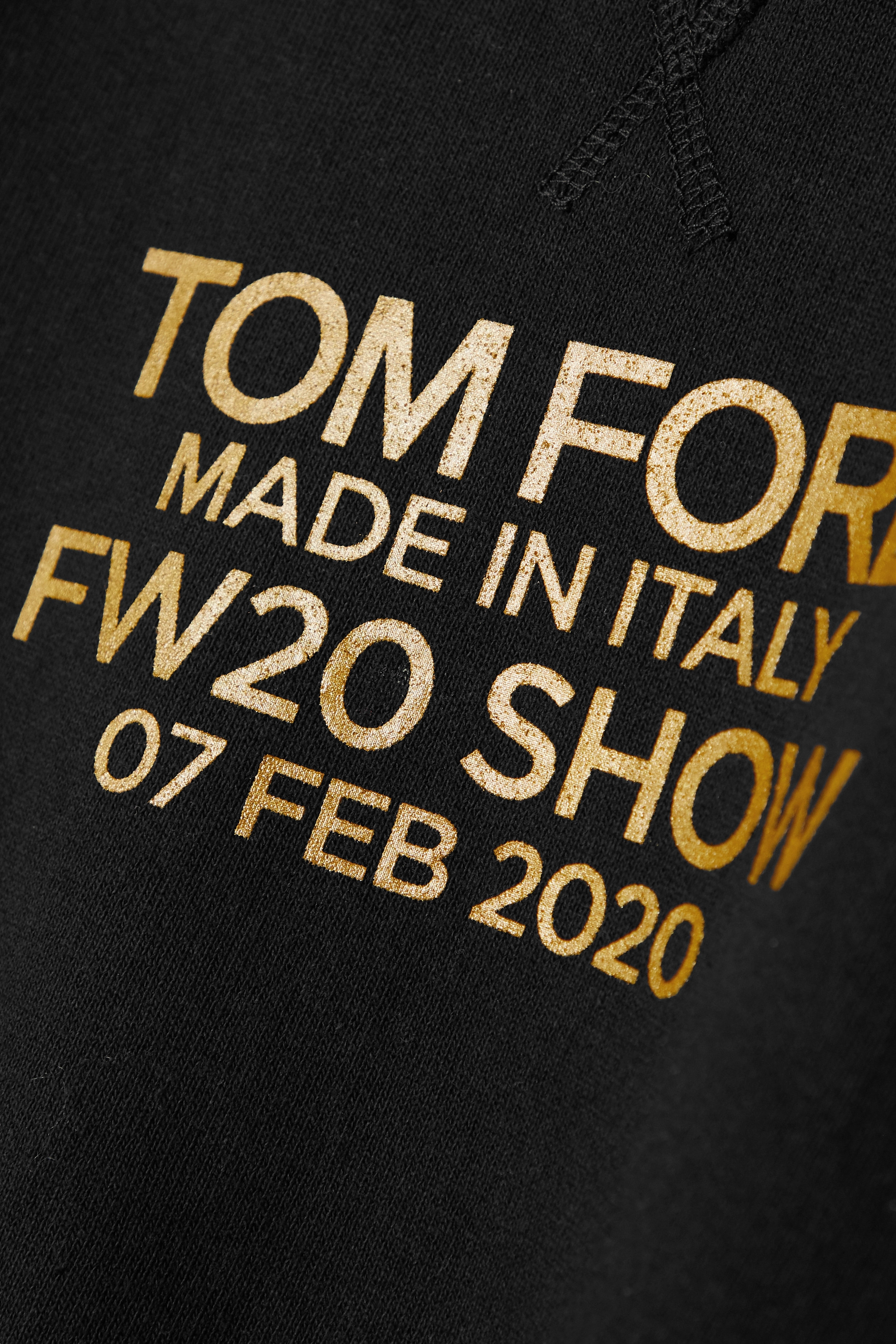 TOM FORD Printed cotton-jersey sweatshirt
