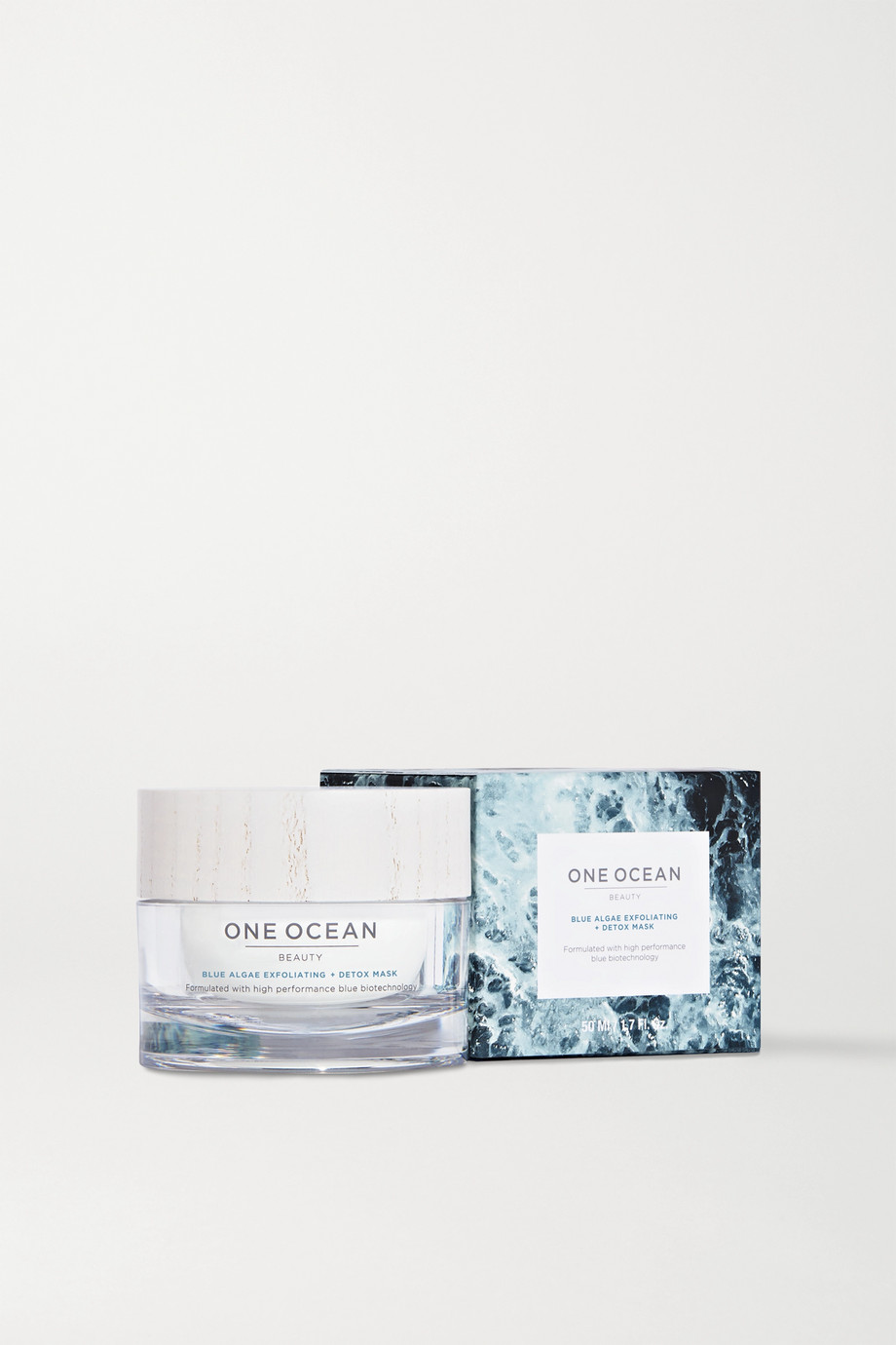 One Ocean Beauty Blue Algae Exfoliating + Detox Mask, 50 ml – Gesichtsmaske