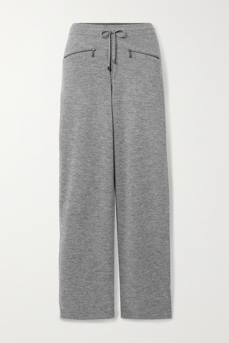 Bogner Allegra mélange wool track pants