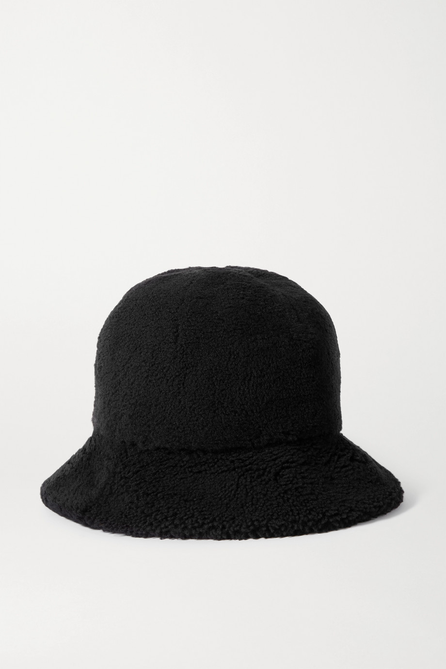 Bogner Mara appliquéd shearling bucket hat