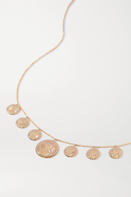 Anissa Kermiche Louise d'Or Collier 14-karat gold necklace