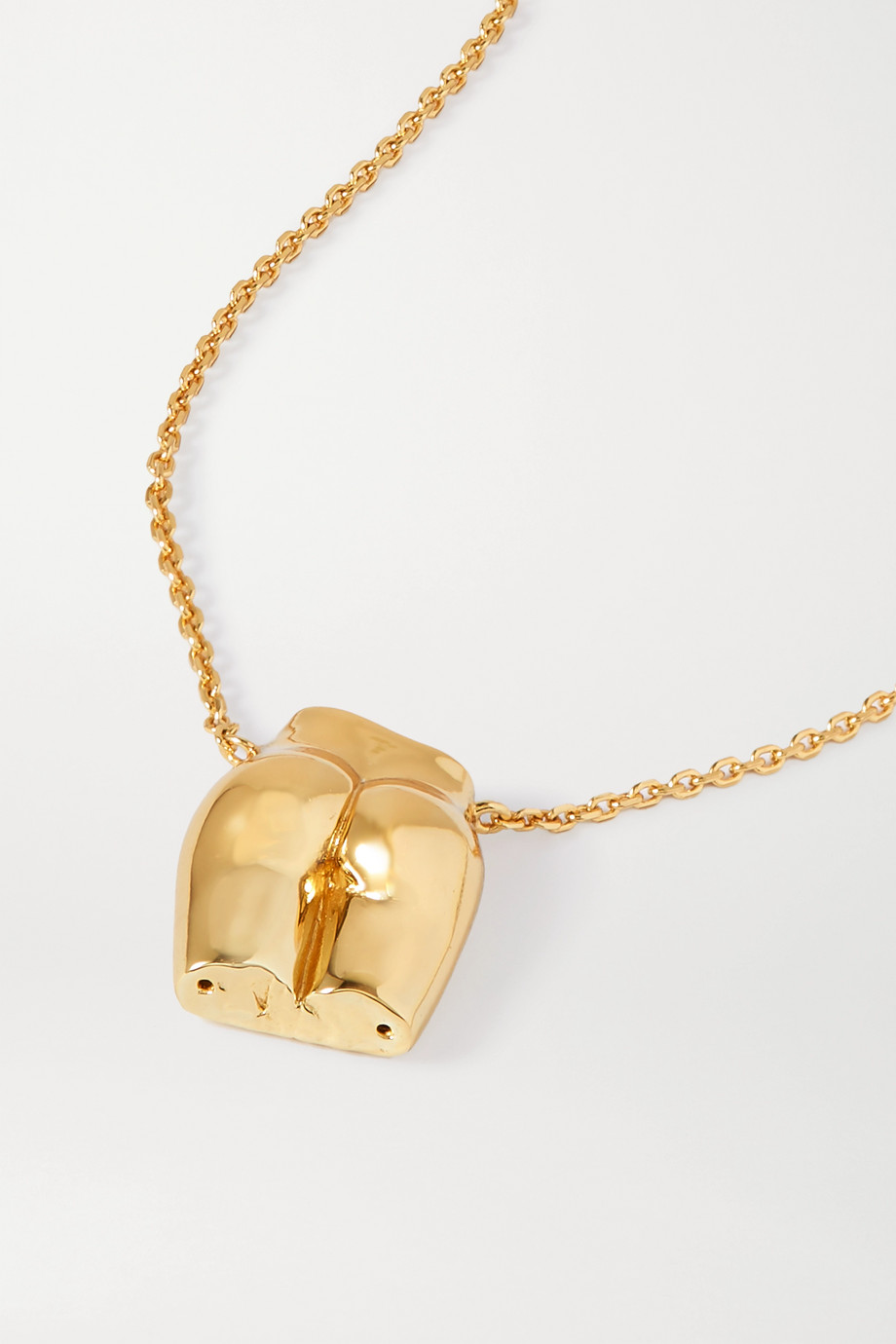 Anissa Kermiche Le Derrière gold-plated necklace