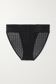 ELSE Jolie stretch-lace briefs