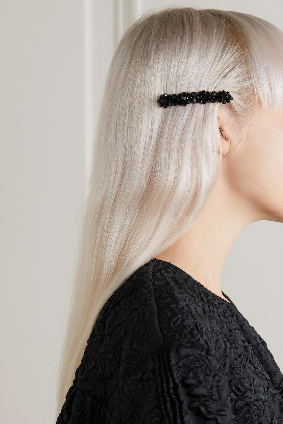 Simone Rocha Flower Haarspange mit Kristallen