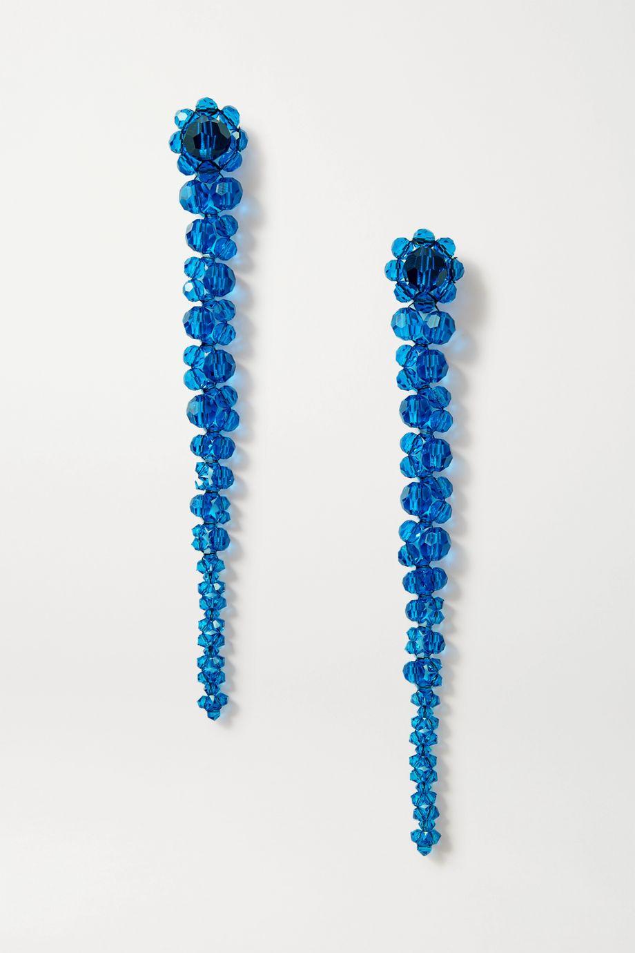Simone Rocha Drip crystal earrings