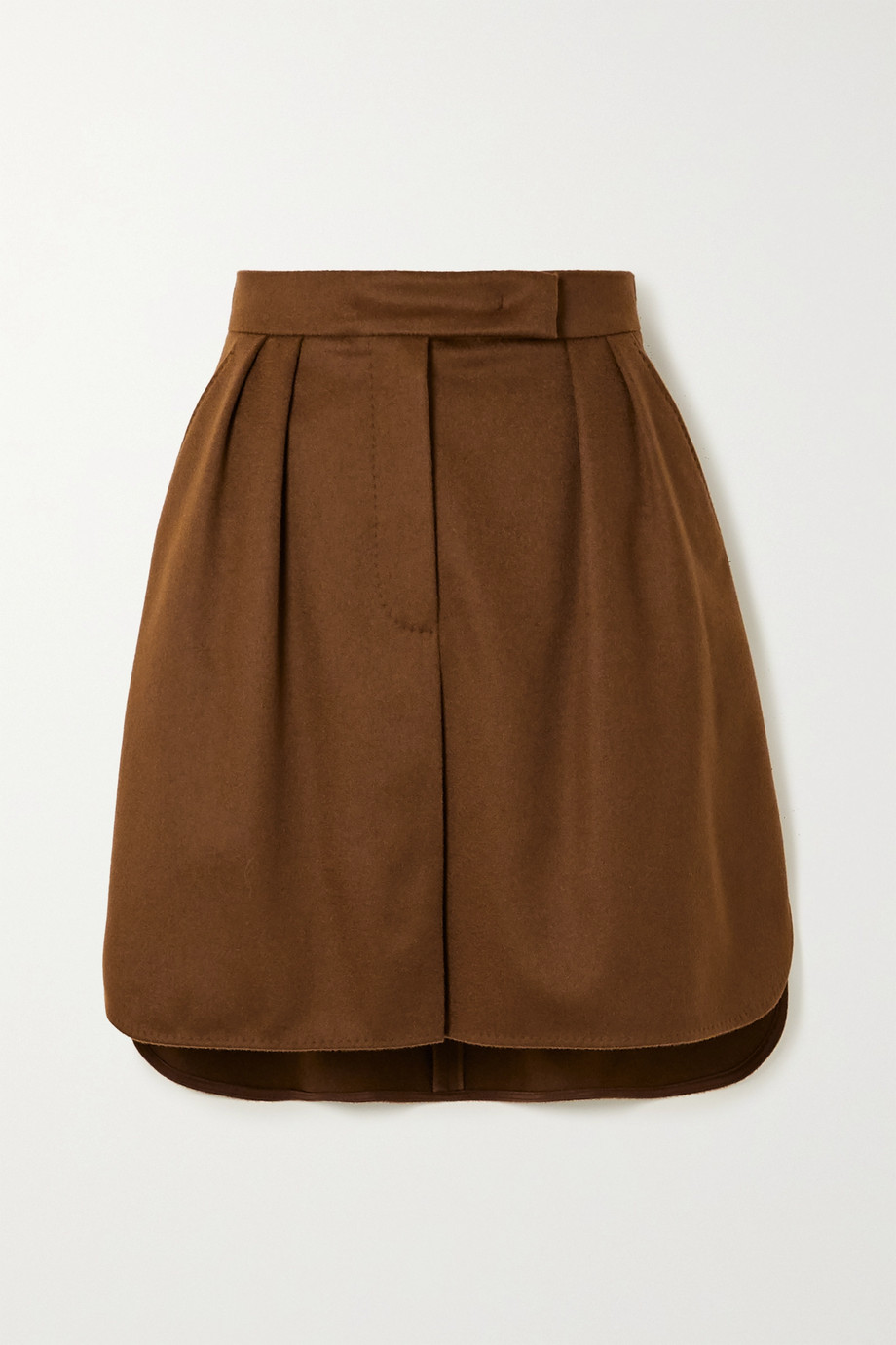 Max Mara Zorro camel hair mini skirt