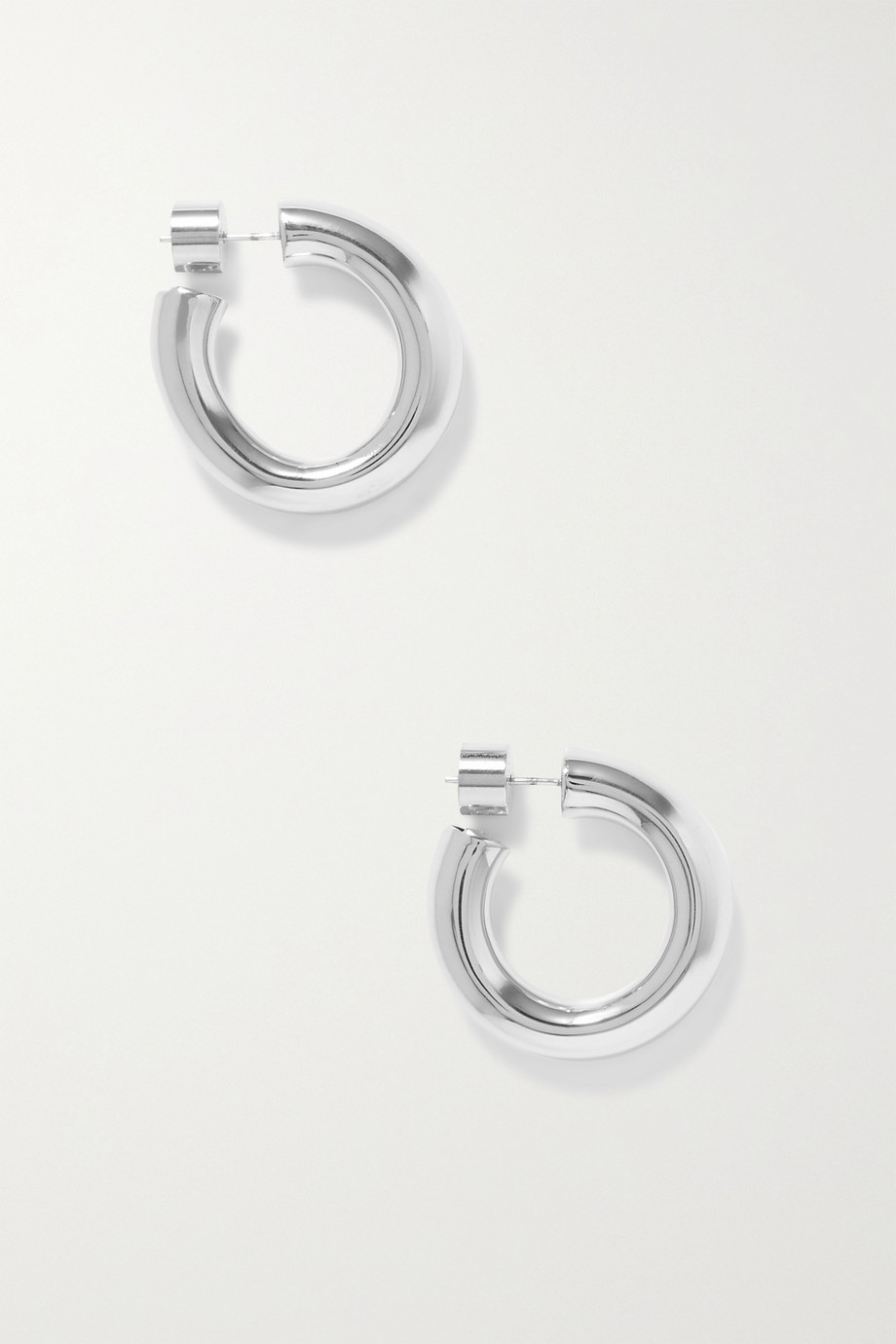 Jennifer Fisher Kevin silver-plated hoop earrings