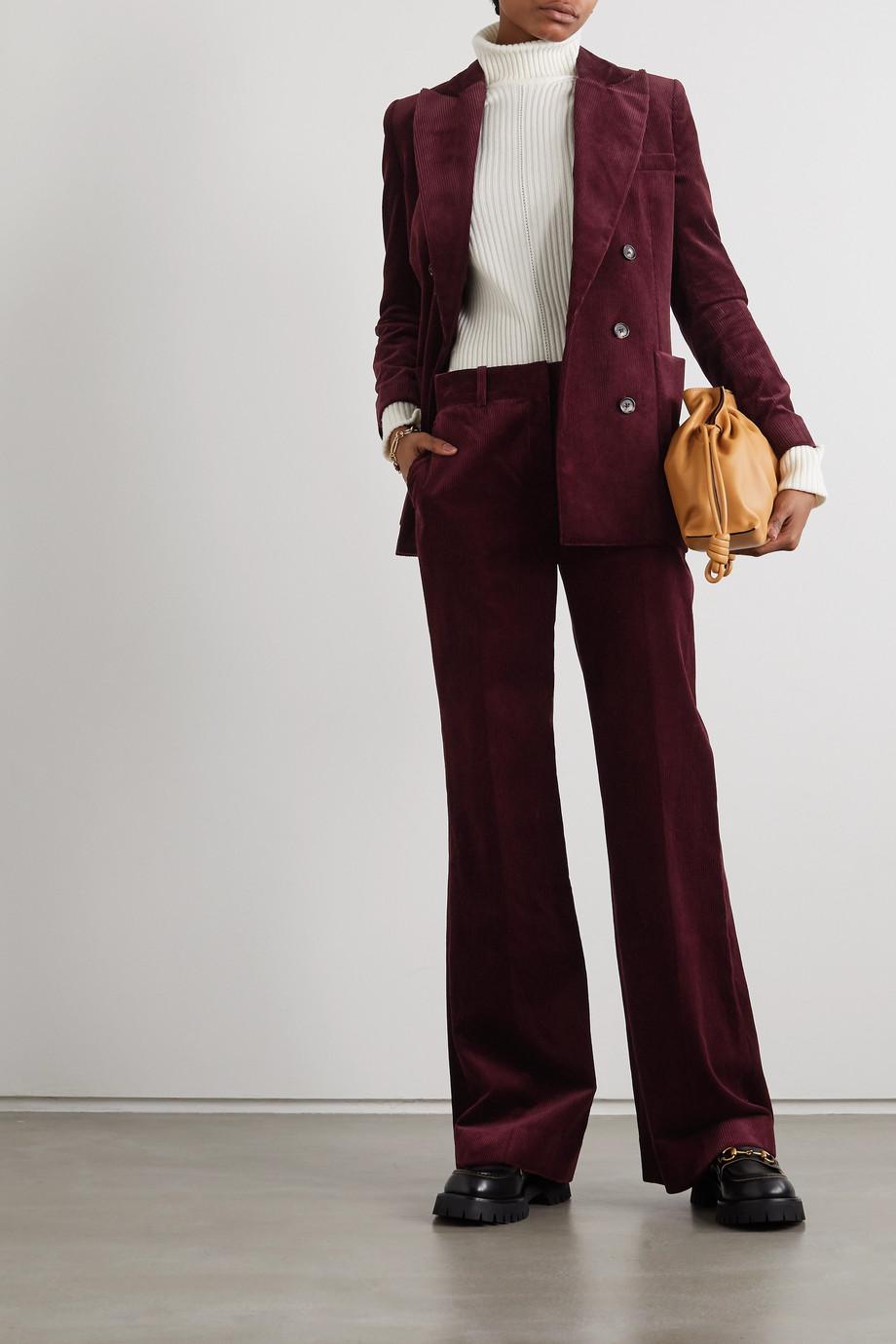 Bella Freud David Hose mit weitem Bein aus Baumwollcord